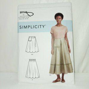 Simplicity  plus Sizes 14 -22 MISSES CIRCLE SKIRTS